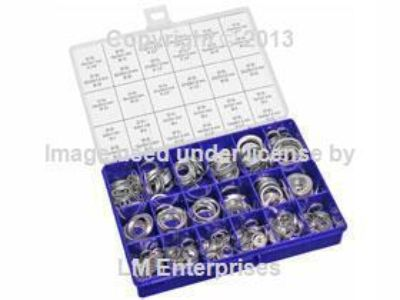 Purchase Automotive Aluminum Washer Assortment Kit 540 Washers 30 sizes from 4 to 33 mm motorcycle in Carson, California, US, for US $145.25