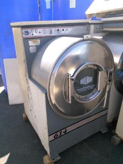 Fair Conditon Milnor Front loading washing machine 208-240V stainless steel 30015C4A