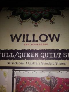 Full/Queen Quilt set