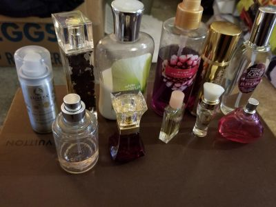 Fragrance and lotion lot