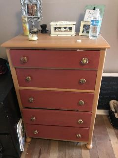 Looking to trade for a white shabby style dresser