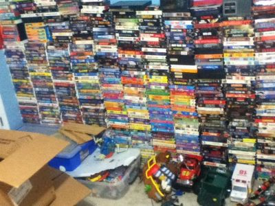 HUNDREDS OF VHS ... MAKE OFFER... OPEN TO POSSIBLE TRADE IN BRYNNMARR