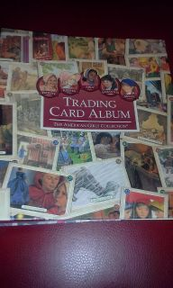 American Girl Trading Card Album with over 160 cards