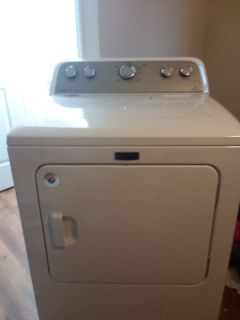White maytag electric dryer