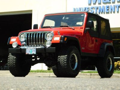 2003 Jeep Wrangler Rubicon (Flame Red Clearcoat)