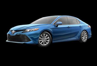 2019 Toyota Camry LE (Blue Streak Metallic)