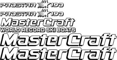Find 2 Color MasterCraft Prostar 190 Full set #1 motorcycle in Amity, Oregon, United States, for US $89.95