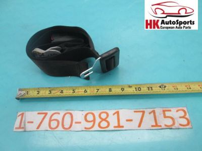 Find BMW E46 323I 325I 328I 330I SEDAN REAR LEFT SEAT BELT AND BUCKLE RECEIVER BLACK motorcycle in Hesperia, California, United States, for US $25.00