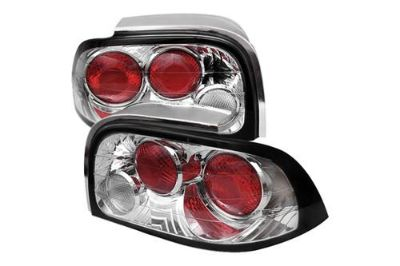 Buy Spyder FM96C - 96-98 Ford Mustang Chrome Euro Tail Lights Rear Stop Lamps motorcycle in Rowland Heights, California, US, for US $114.24