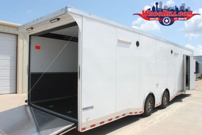 32' Auto Master Bathroom/ Shower Race Trailer Wacobill.com