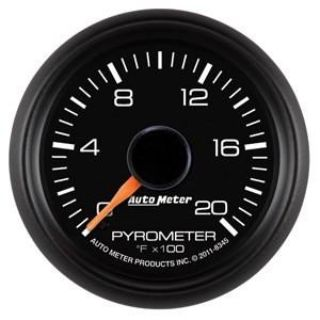 Buy Autometer 2-1/16in. Pyrometer Kit; 0-2000 FSE Chevy Factory Match motorcycle in Acworth, Georgia, US, for US $183.36