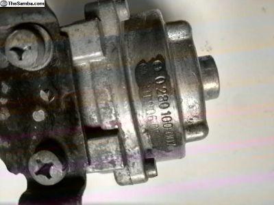 D-jet type 4 manifold pressure sensor