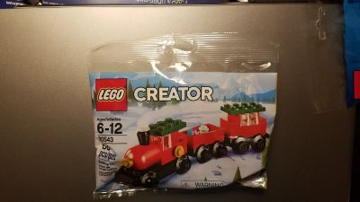 Lego #30543 Creator Christmas Train Polybag NEW