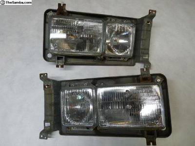 2.1 square headlight set