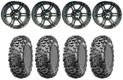 Buy Kit 4 CST Stag Tires 27x9-12/27x11-12 on ITP SS212 Matte Black Wheels TER motorcycle in West Monroe, Louisiana, United States, for US $822.48