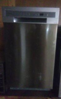 """Frigidaire 18"""" Stainless Dishwasher"""