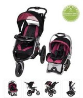baby jogger stroller & car seat