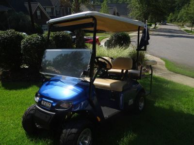 2014 ezgo txt 2x2 48 volt golf cart