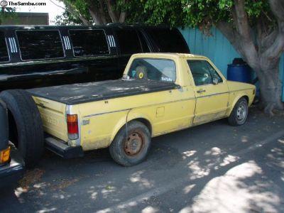 1980 VW diesel Rabbit Pick Up