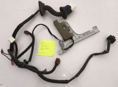 Purchase 2003 - 2007 NISSAN MURANO REAR RIGHT PASSENGER SIDE DOOR WIRE WIRING HARNESS OEM motorcycle in East Bridgewater, Massachusetts, United States, for US $32.00