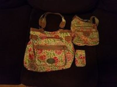 Lilly blossom purse, satchel and cell phone case