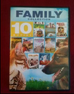10 movie family collection dvd set