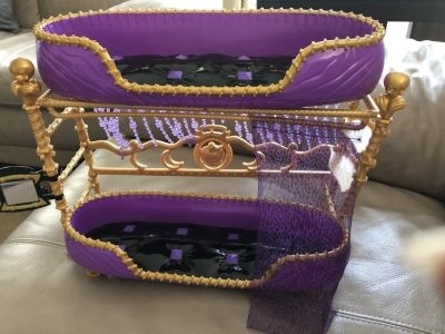 Monster High Clawdeen Doll Bunk, Tub, Bed