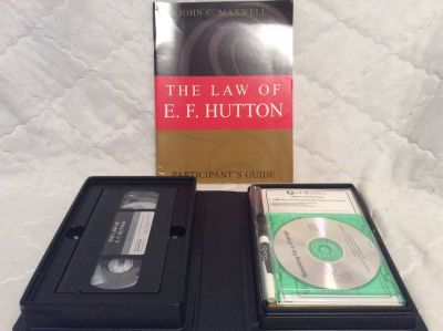 Success Training: The Law of E. F. Hutton