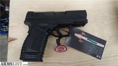 For Sale: SPRINGFIELD XDS 9mm XDS9339BECT