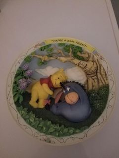 Pooh and Eeyore collectors plate