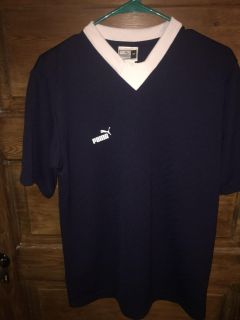 Puma: Navy/Wht Athletic Top Size M $9 Must Pickup In McDonough