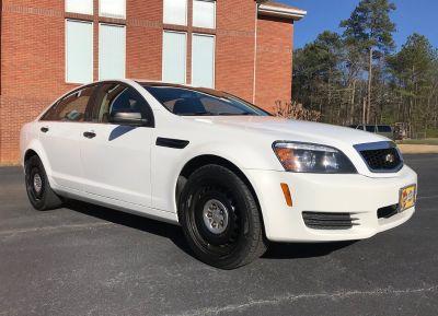 2014 Chevrolet Caprice Police (White)