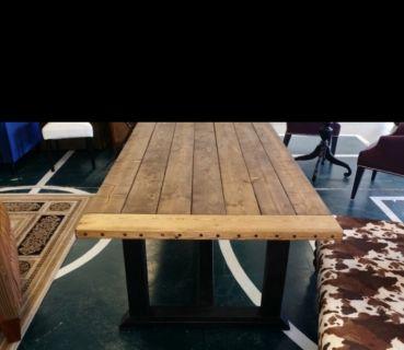 Quality hand build farmhouse style tables