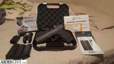 For Sale/Trade: Glock 34, MOS with a Burris