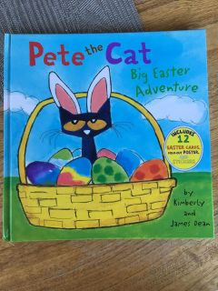 Pete the Cat Easter Adventure book