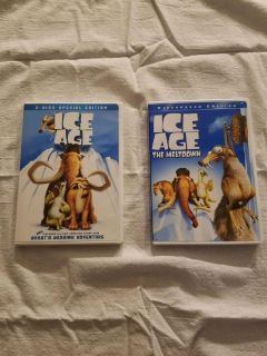 Ice Age and Ice Age Meltdown, $5.00