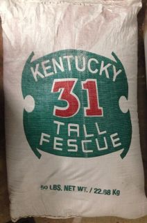 Grass seed-Kentucky Tall fescue-50 pounds-$50
