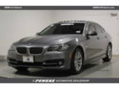 Used 2016 BMW 5 Series GRAY, 38.4K miles