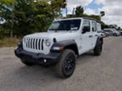 2018 Jeep Wrangler Unlimited White, 11 miles