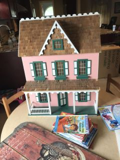 Beautiful wooden doll house