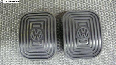 VW Logo pedal pads