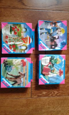 4x New Playmobil Special Figures
