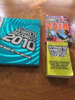 Almanac/Guiness World Records Books