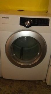 SAMSUNG FRONTLOAD DRYER