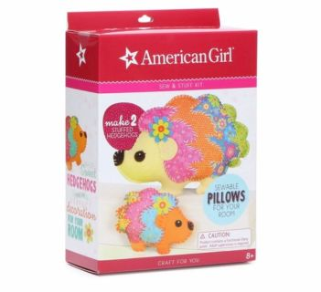 New American girl Sew and stuff pillow set