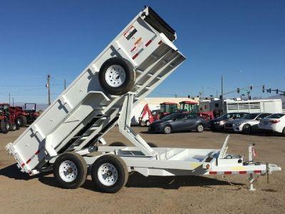 7x14Dump Trailer GVWR 14,000 lbs, Equipment Hauler, Bobcat Hauler, Big Tex Dump 14LX-14