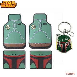 Find New 5pc Set Star Wars Boba Fett Car Truck Front Rubber All Weather Floor Mats motorcycle in Monrovia, California, United States, for US $58.94