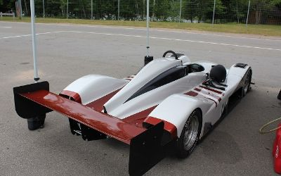 west wr1000 race car w/ aluminum trailer