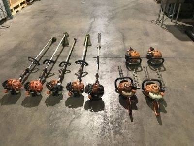 Lot of Power Landscaping Equipment RTR#7101240-03