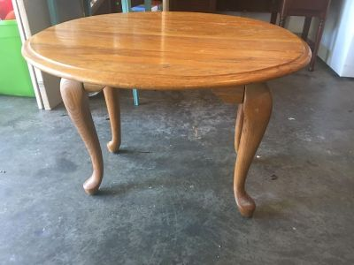 Side table (sides fold down)